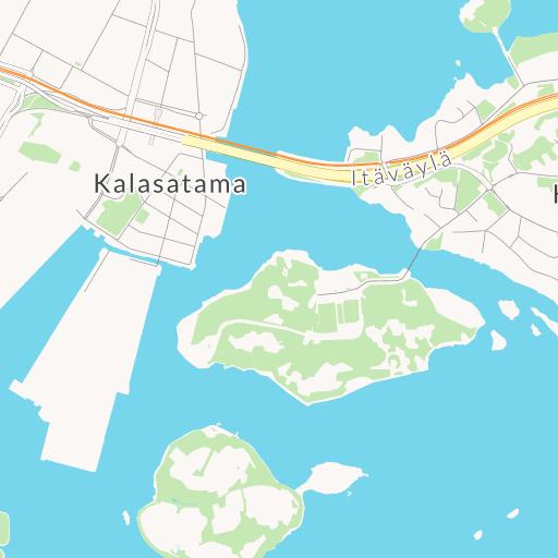 pattayan kartta vaaleanruskea vuoto
